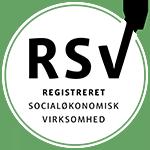 Registreret socialøkonomisk virksomhed logo